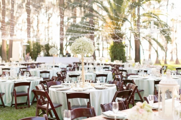 Private Residence A Mint And Gold Wedding A Chair