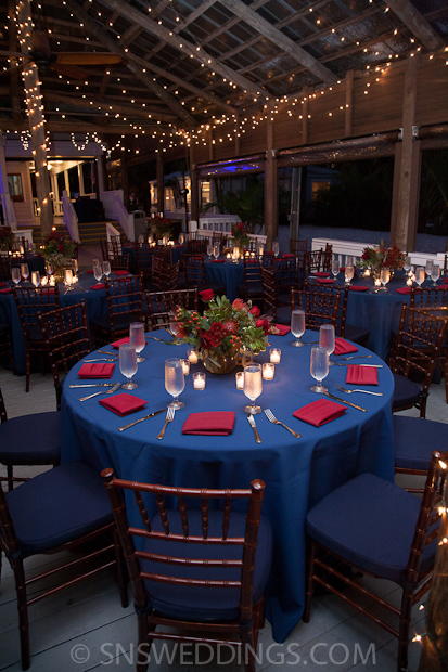 Paradise Cove A Nautical Reception A Chair Affair Inc