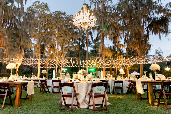 Private Residence: A Mint And Gold Wedding