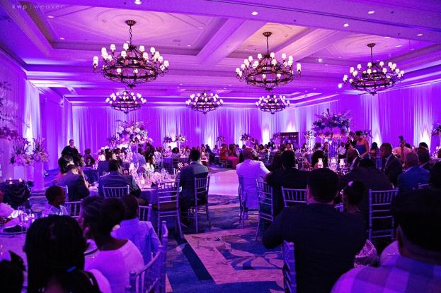 Ritz Carlton Grande Lakes: Dana and Henry\'s Purple Elegance ...