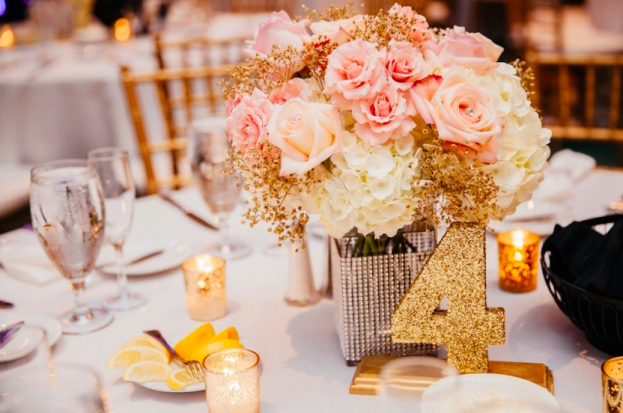 The Palmetto Club A Glamorous Blush And Gold Wedding A