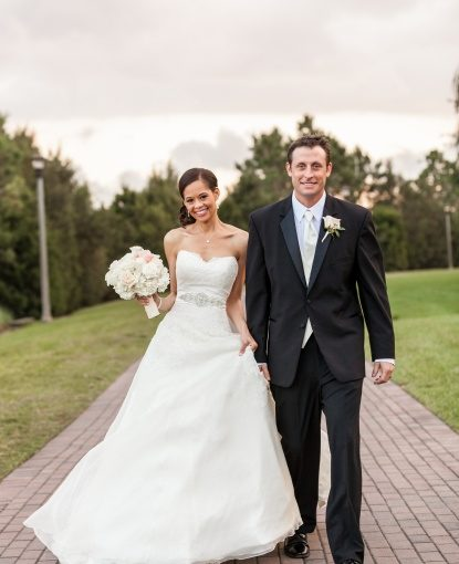 Rosen Shingle Creek Resort: A Champagne and Blush Wedding