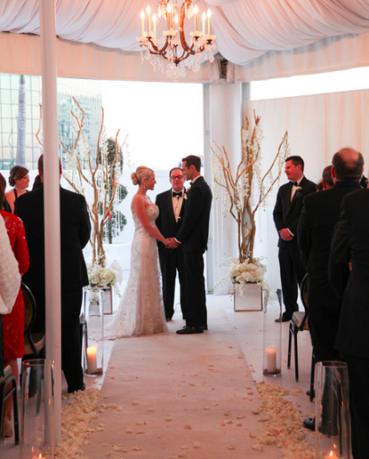 Grand Bohemian: Sarah and Steven's Sleek Modern Wedding