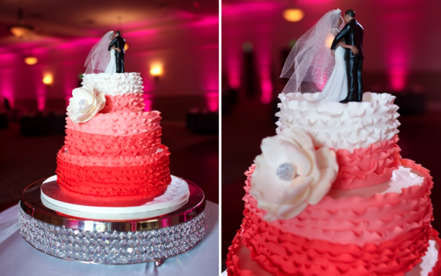 Bec Photography, Lake Mary Events Center, A Chair Affair event rentals, Orlando chair rentals, bling cake stand