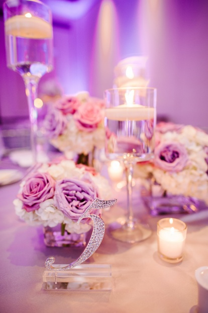 Best Photography, Wyndham Bonnet Creek, A Chair Affair event rentals, Orlando chair rentals, bling table numbers, purple wedding