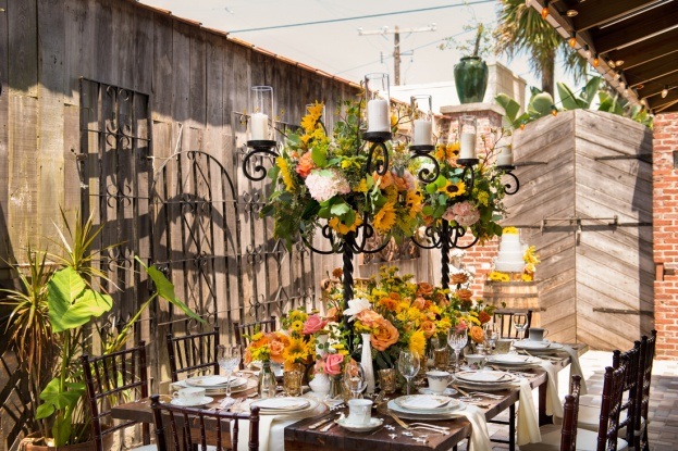 Erika Rech Photography, Cafe Da Vinci, A Chair Affair event rentals, Orlando chair rentals, mahogany chiavari chairs, rustic farm table
