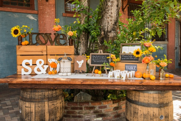 Erika Rech Photography, Cafe Da Vinci, A Chair Affair event rentals, Orlando chair rentals, wine barrel, rustic farm table