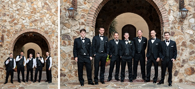 Ivory Wedding Ideas, Groomsmen, Bella Collina, Kristen Weaver Photography, A Chair Affair Event Rentals