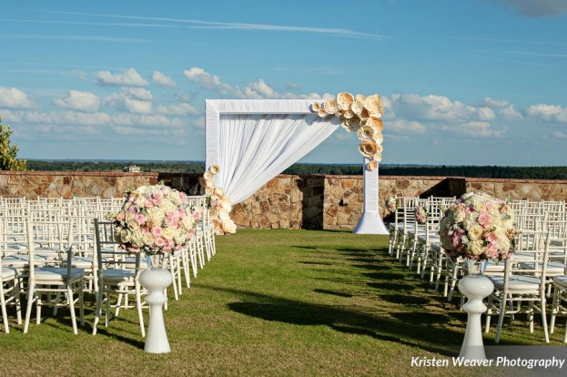 Kristen Weaver Photography, Bella Collina, A Chair Affair, Orlando chair rentals, white chiavari chairs