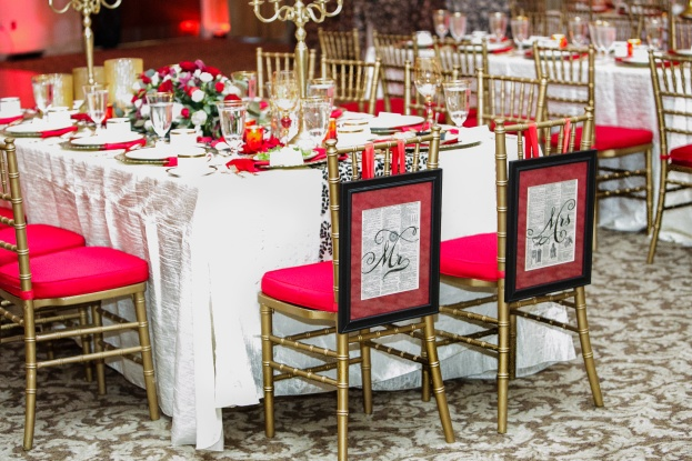 Lake-Mary-Events-Center-Nancy-Faircloth-Photography-Gold-Chiavari-Chairs-Red-Chair-Pads-Over-The-Top-A-Chair-Affair-Event