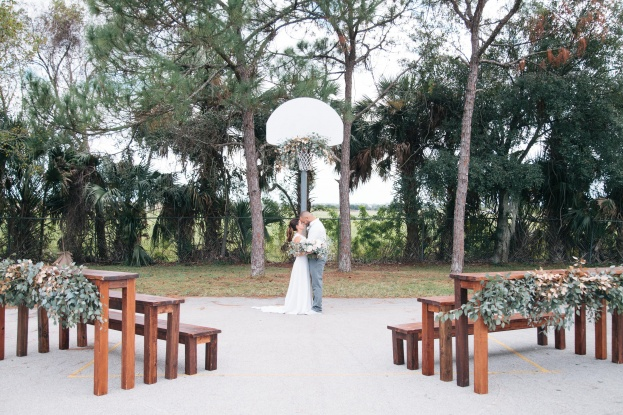 Vintage Basketball, All-American Wedding Styled Shoot