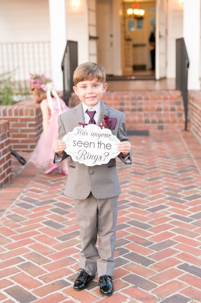 Ring Bearer Ideas, Amalie Orrange Photography, Cypress Grove Estate House, A Chair Affair Event Rentals