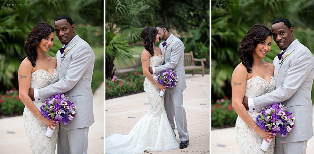 Ritz Carlton Grande Lakes: Dana and Henry's Purple Elegance Wedding
