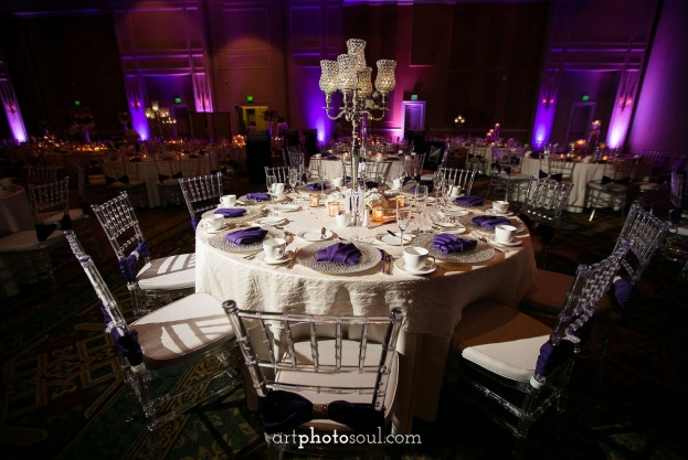Rosen Shingle Creek Diamond Purple Wedding Art Photo