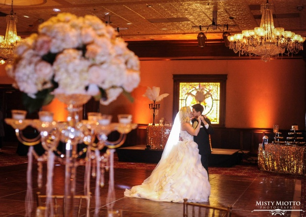 The Ballroom at Church Street: Brittany and Randy's Glamorous Gatsby Wedding