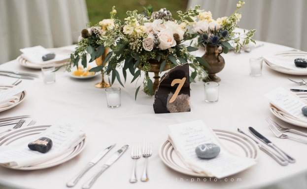Vintage Wedding Centerpieces, LH Photography, Wild Acres, A Chair Affair Event Rentals
