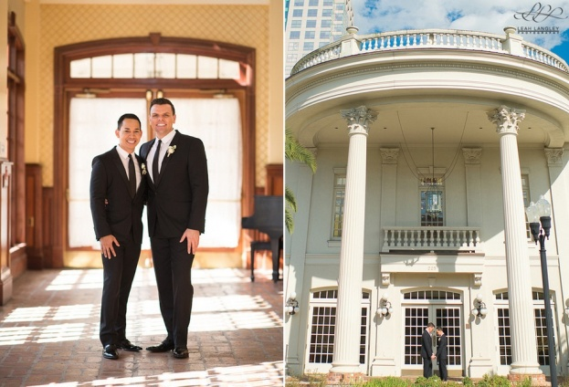 Ballroom at Church Street: John and Peter's High-Style Wedding