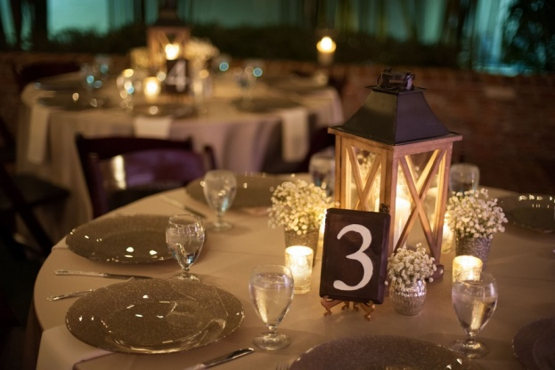 Casa-Feliz-Stephanie-A-Smith-Photography-Champagne-Glitter-Glass-Chargers-Flatware-Get-Lit-Productions-Lee-James-Floral-Designs-A-Chair-Affair-Event