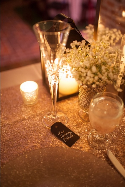 Casa-Feliz-Stephanie-A-Smith-Photography-Lee-James-Floral-Designs-Get-Lit-Productions-Champagne-Glitter-Glass-Chargers-A-Chair-Affair-Event