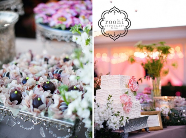 Davis-Island-Garden-Club-Roohi-Photography-Square-Silver-Cake-Stands-Tres-Suspiros-Chocolatier-Hands-on-Sweets-A-Chair-Affair-Event