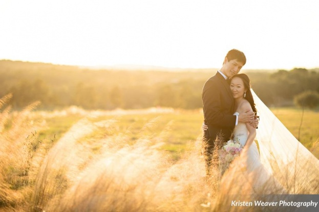 Bella Collina: Anjie and Ben's Blush Pink, Asian-Inspired Wedding