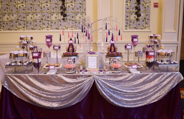 Loews-Portofino-Bay-Hotel-Bling-Guest-Card-Boxes-Florida-Candy-Buffets-Anna-Cakes-A-Chair-Affair-Event
