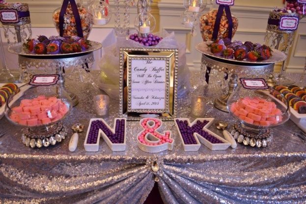 Loews-Portofino-Bay-Hotel-Florida-Candy-Buffets-Bling-Guest-Card-Boxes-A-Chair-Affair-Event