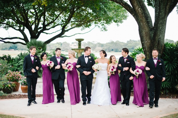 Mission Inn Resort & Club: A Sparkling Plum Wedding
