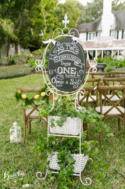 Peachtree House Florida Citrus Wedding Inspiration A Chair Affair Inc
