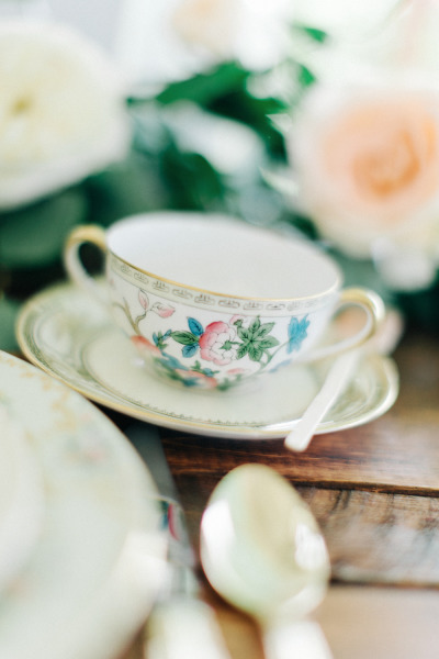 Vintage China Tea Cup, The Acre Orlando, The Hons Photography, A Chair Affair Event Rentals