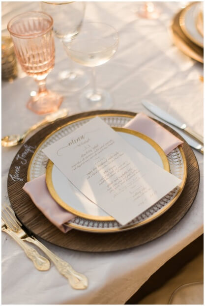 Blush and Gold Tablescape, Crosley Mansion, Trenholm Photo, A Chair Affair Event Rentals