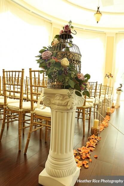 Gold Chiavari Chairs, Heather Rice Photography, Lake Mary Events Center, A Chair Affair Event Rentals