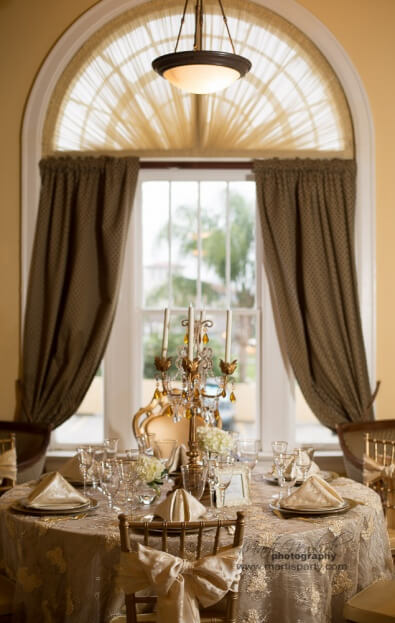 Lake-Mirror-Tower-Marti-Newkirk-Photography-Cinderella-Themed-Events-Gold-Wedding-Ideas-Gold-Chiavari-Chairs-Gold-Chair-Pads-A-Chair-Affair-Event