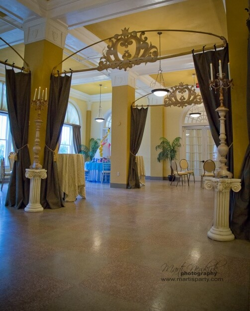 Lake-Mirror-Tower-Marti-Newkirk-Photography-Silver-Wedding-Ideas-Cinderella-Events-Orlando-Horse-&-Carriage-Gold-Wedding-Ideas-A-Chair-Affair-Event