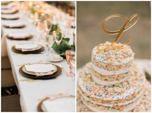 Naked Wedding Cake, Crosley Mansion, Trenholm Photo, A Chair Affair Event Rentals