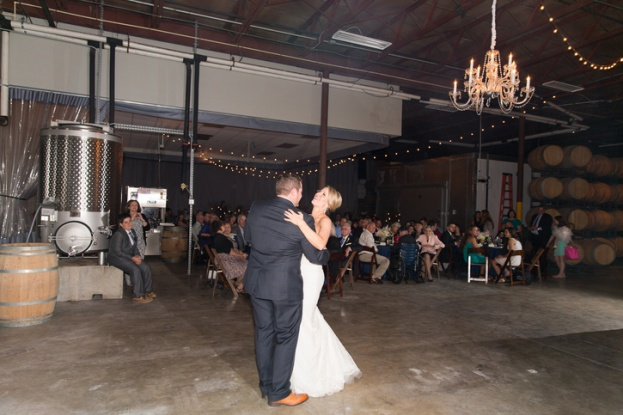 1f90ec43b55 Quantum Leap Winery  A Champagne and Navy Rustic Wedding - A Chair ...