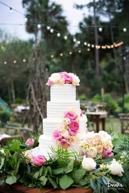 Rustic Wedding Cake, An Outback Wedding, Outback Nation, Drake Photography, A Chair Affair Event Rentals
