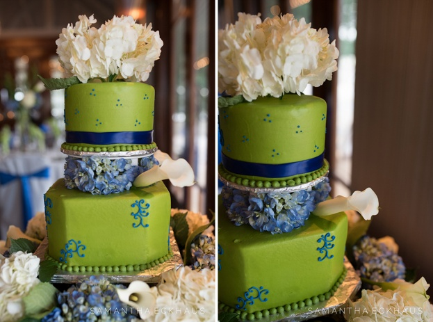 Timacuan Golf Club: A Blue and Green Wedding - A Chair Affair, Inc.