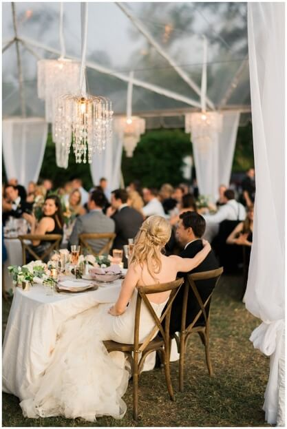 Vintage Glam Sweetheart Table, Crosley Mansion, Trenholm Photo, A Chair Affair Event Rentals