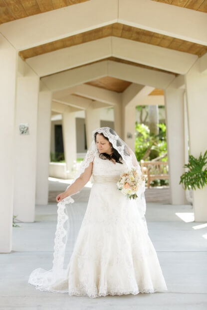 Bride, Tea Party Wedding, Pink and Gold, Florida Federation of Garden Clubs, Bumby Photography, A Chair Affair Rentals