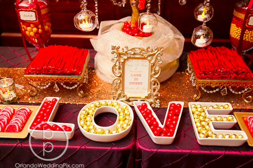 Candy Buffet Ideas, Wedding Buffet Ideas, Ballroom at Church Street, Orlando Wedding Pix, A Chair Affair Rentals