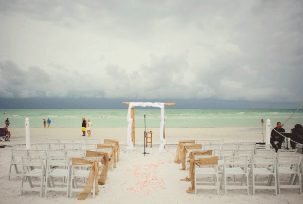 Honeymoon Island-Outdoor Wedding Ideas-Wedding Ceremony Ideas-A Chair Affair Wedding Rentals