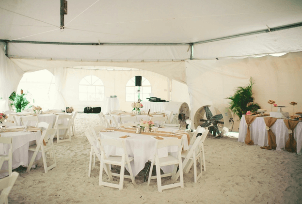 Honeymoon Island-Outdoor Wedding Ideas-Wedding Reception Ideas-A Chair Affair Wedding Rentals