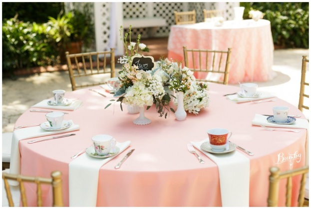 Mismatched China Tea Cups, Tea Party Wedding, Florida Federation of Garden Clubs, Bumby Photography, A Chair Affair Rentals