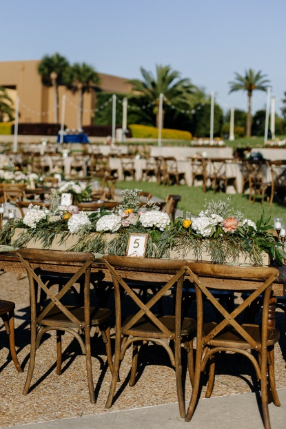 Rustic Farm Tables, French Country Chairs, Rattan Wicker Chargers, Lakeland Florida, Sunglow Photography, A Chair Affair Rentals