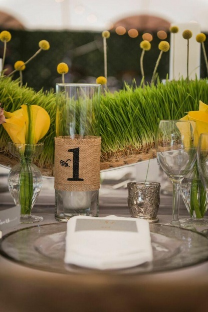 Silver Rimmed Glass Chargers, Yellow Floral, Yellow Wedding Ideas, Beach Wedding Ideas, Port Royal Club, Ryan Joseph Photographs, A Chair Affair Rentals