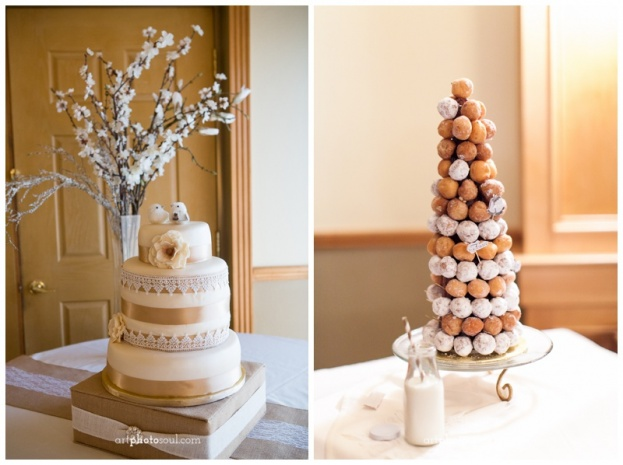 Stoneybrook-West-Golf-Club-ArtPhotoSoul-Photographers-Birds-Ivory-Gold-Wedding-Cake-Donuts-Vintage-Wedding-Ideas-Romantic-Ideas-A-Chair-Affair-Rentals