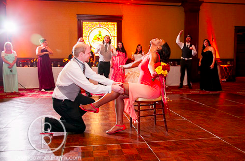 Wedding Reception Ideas, Mahogany Chiavari Chairs, Ballroom at Church Street, Orlando Wedding Pix, A Chair Affair Rentals