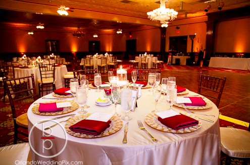 Wedding Reception Ideas, Mahogany Chiavari ChairsBallroom at Church Street, Orlando Wedding Pix, A Chair Affair Rentals