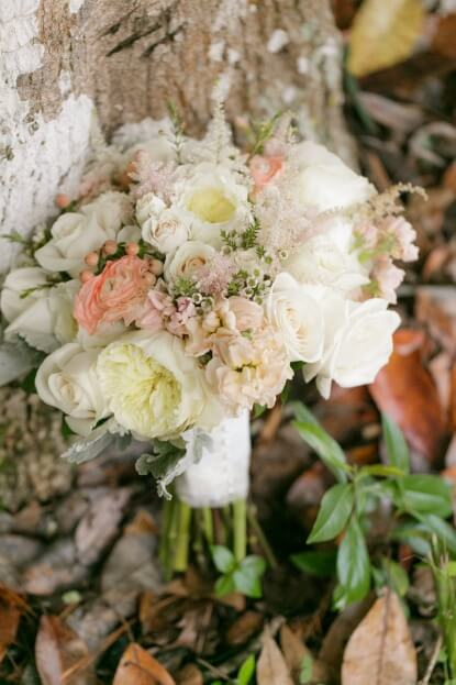 White Pink Bridal Bouquet, Tea Party Wedding, Florida Federation of Garden Clubs, Bumby Photography, A Chair Affair Rentals